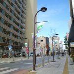 熊谷市道路照明灯